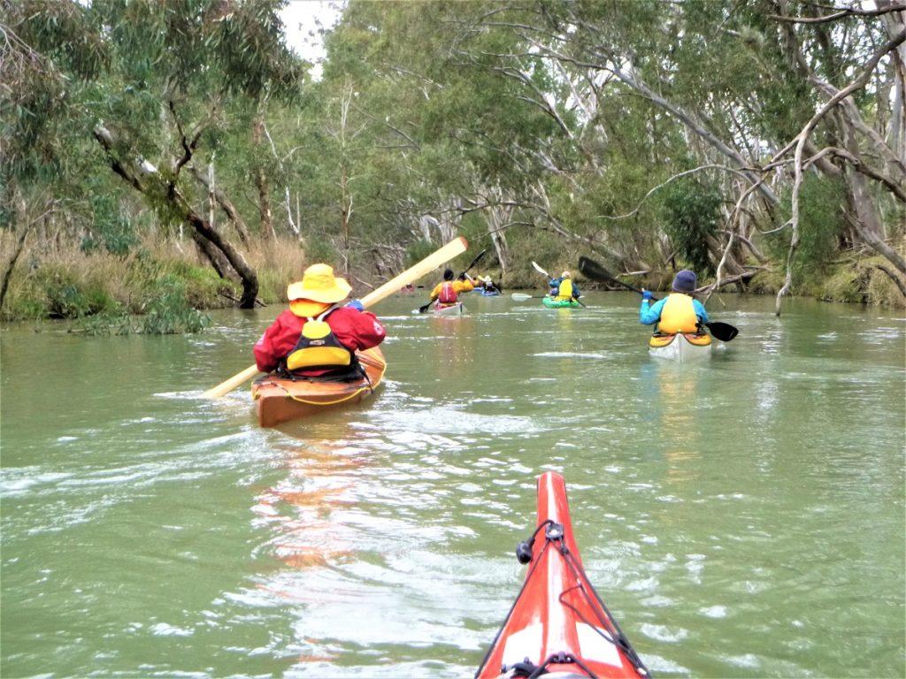Heading into South Para Paddling Trails South Australia