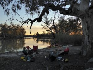 Ral Ral campsite photo courtesy Meredith Blesing Paddling Trails South Australia